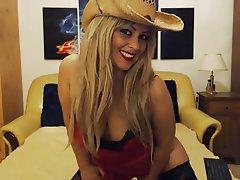 Amateur, Blonde, Lingerie, Webcam