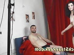 Amateur, Brunette, Casting, Czech